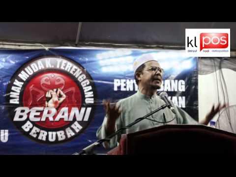 Ceramah Datuk Zulkifli Noordin Di Kampung Bukit Kecil Dun Ladang Kuala Terengganu Part 1