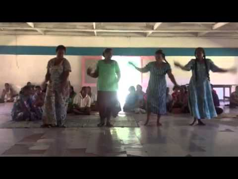 Banaban Women Dancing Rabi Easter 2013