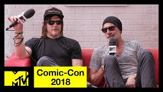 'The Walking Dead' Cast on Season 9 & Jeffrey Dean Morgan Talks 'Flashpoint' | Comic-Con 2018 | MTV - MTV