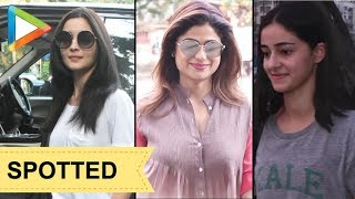 CHECK OUT: Alia Bhatt, Shamita Shetty  & Ananya Pandey SPOTTED in Juhu - HUNGAMA