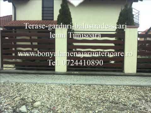 Lemn Timisoara 0724410890 | Lemn finisat Timisoara | Lemn pentru terase Timisoara