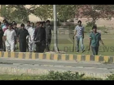 Dunya News-Multan: 5 injured as student orgs clash at BZU