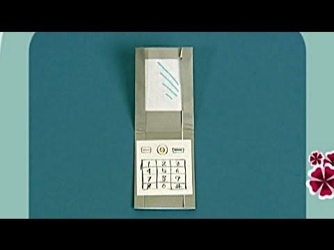 Çocuklar İçin Origami Phone (Öğretici) – Kağıttan Arkadaşlar 03