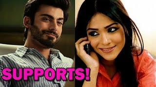 Fawad Khan supports Humaima Malik | Bollywood News