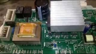 Стиральная машина Аристон. Ремонт модуля управления с асинхронным двигателем