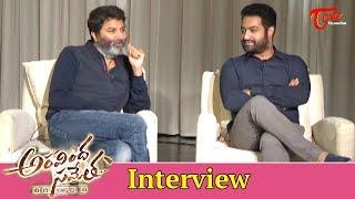 Aravinda Sametha | Dasara special interview | Jr. NTR | Trivikram | TeluguOne - TELUGUONE