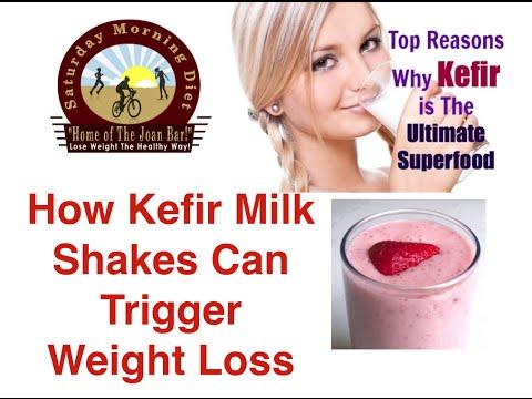 How Kefir Milk Shake Can Trigger Weight Loss