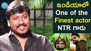 NTR Is One Of The Finest Actors In India - Josh Ravi | Frankly With TNR | Talking Movies With iDream - IDREAMMOVIES