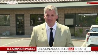 Watch Live: OJ Simpson's parole hearing - SKYNEWS
