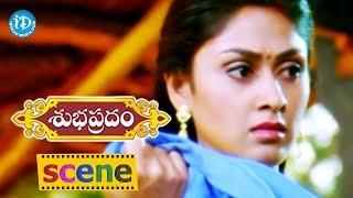 Subhapradam Movie Scenes - Manjari Phadnis Comes To Know About Allari Naresh's Profession - IDREAMMOVIES