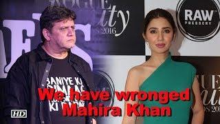 We have wronged Mahira Khan: 'Raees' Director - IANSLIVE