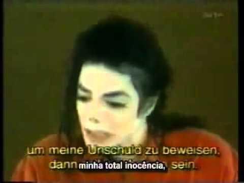 Michael Jackson Declaração de Michael Jackson se defendendo das acusações de 1993 legendado   YouTube