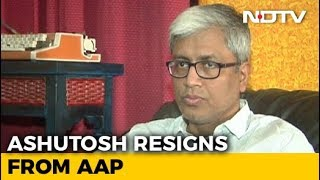 """Not In This Lifetime"": Arvind Kejriwal Rejects Ashutosh's Resignation - NDTV"