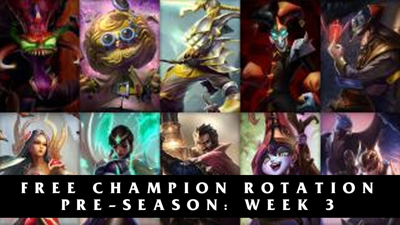 Free League of Legends Champions Season 4 | Pre-Season Week 3