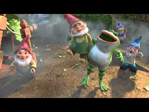 GNOMEO & JULIET Crocodile Rock promo vid - Soundtrack Out Feb 11