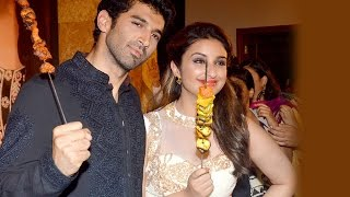 Parineeti Chopra and Aditya Roy Kapoor's FOOD TRIP - EXCLUSIVE! Bollywood News
