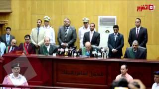 لحظة الحكم على مرسي في «أحداث الاتحادية»