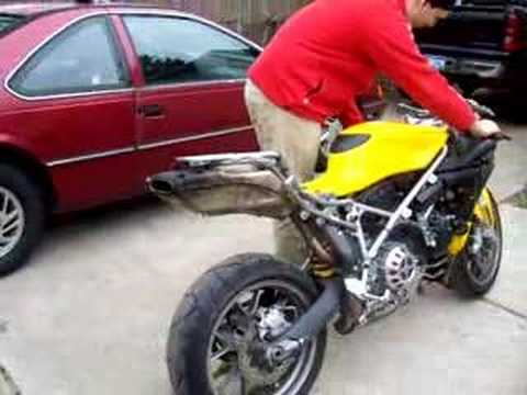 Ducati 999 cored exhaust.