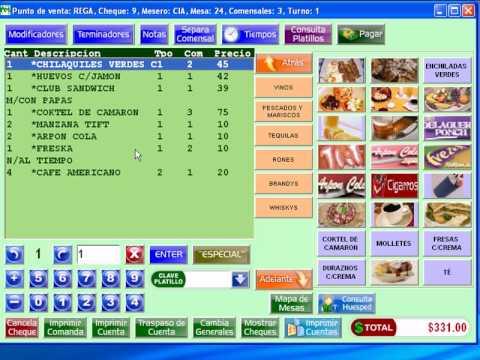 Arpón Win POS by Arpón Enterprise México - Software para Restaurantes