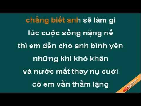 Neu Khong Co Em Karaoke - Lam Nhat Tien - CaoCuongPro