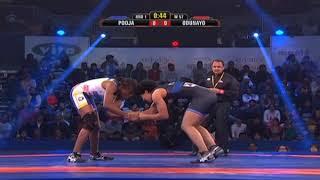 PWL 3 Day 14: Pooja Dhandha Vs Odunayo at Pro Wrestling league 2018 season 3 - ITVNEWSINDIA