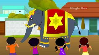 Kovil Yannai - Chellame Chellam Volume 4 Tamil Animated Nursery Rhymes