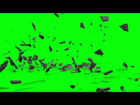 Ten Green Screen Debris Exploding Effects  (HD) -OVJq9C8wiA4