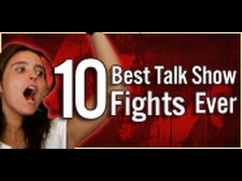 10 Best Talk Show Fights