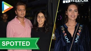 Don't Miss: Esha Gupta , Ritiesh- Genelia SPOTTED at Yauatcha - HUNGAMA