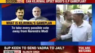 Arvind Kejriwal to file his nomination in Varanasi today - NEWSXLIVE