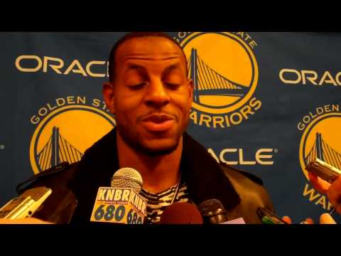 Andre Iguodala on dunking in his first game back from injury