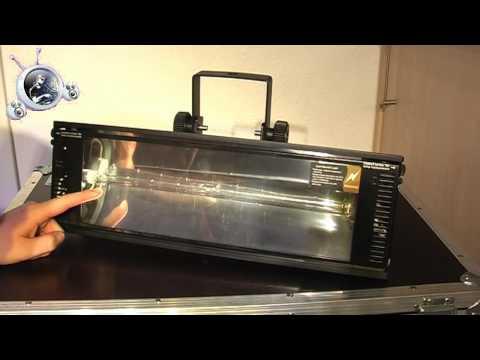 Video Check - Stairville Power Strobe 1500 DMX