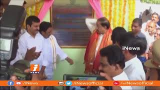 Minister Tummala Nageswara Rao Inaugurates MLA Camp Office at Sathupalli | Khammam | iNews - INEWS