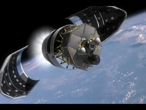 Orion Spacecraft Moon Mission Animation