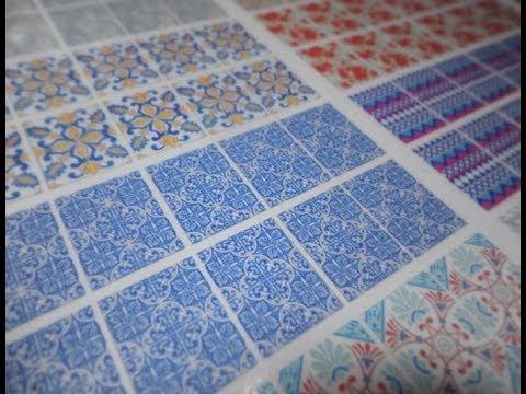 Como fazer adesivos de unhas impressos