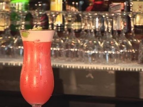 How To Make A Flaming Zombie Cocktail