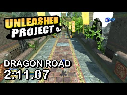 Sonic Generations - Unleashed Project: Dragon Road (Modern) Speed Run (w/ skills) - 2:11.07