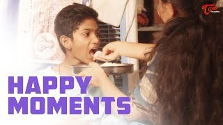 Happy Moments | Latest Telugu Short Film 2019 | By Nagaraj Janagam | TeluguOneTV - YOUTUBE