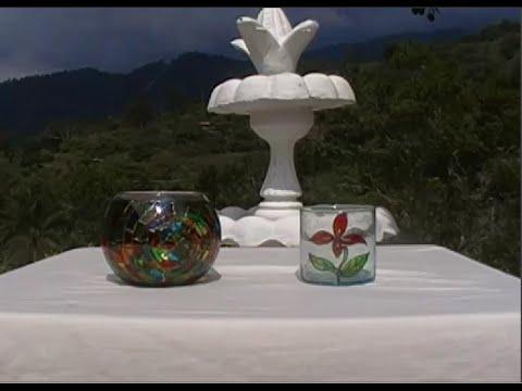Decoración de vidrios. Cómo hacer un vitral