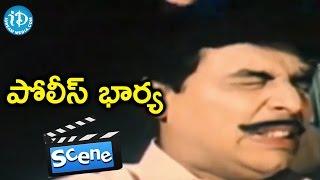Police Bharya Movie Scenes - Naresh Falls In Love With Seetha || Ahuthi Prasad || Narasimha Rao - IDREAMMOVIES
