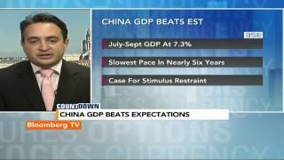 Countdown: China GDP Beats Expectations - BLOOMBERGUTV