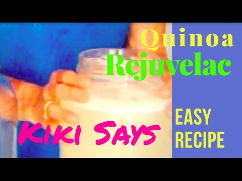 Easy to Make Probiotic - Quinoa Rejuvelac