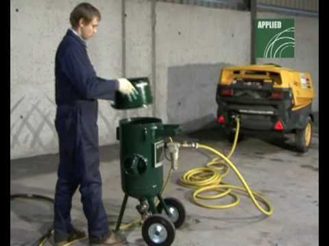 Applied Abrasive Blasting Equipment In Action