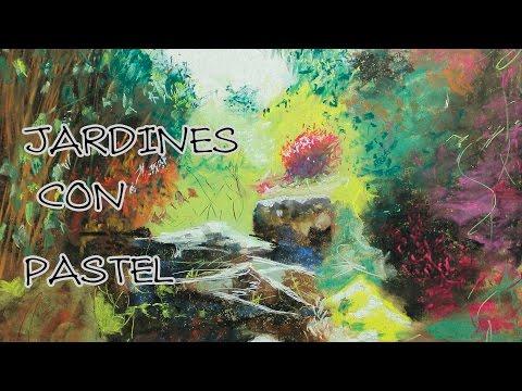tips y trucos para pintar con pastel NIVEL 12 ( jardines )