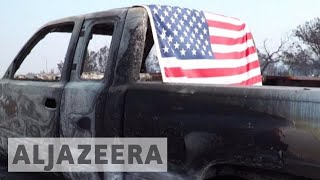 California wildfires in numbers - ALJAZEERAENGLISH