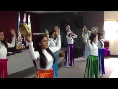 Grupo de Danza de Iglesia Amistad Cristiana de Guatemala.