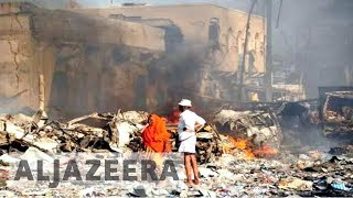 Somalia: More than 200 killed in massive Mogadishu blasts - ALJAZEERAENGLISH
