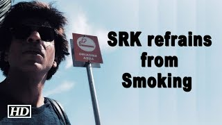 SRK refrains from smoking in 'Los Angeles' - BOLLYWOODCOUNTRY
