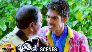 Dhanraj Warned by Goons | Panileni Puliraju 2018 Telugu Full Movie Scenes | Mango Videos - MANGOVIDEOS