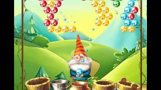 guide, tips, and cheats from Bubble and the Seven Dwarfs Level 2 in video